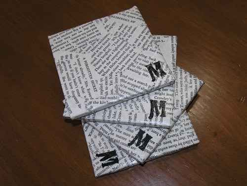 Nancy Drew Book Coasters