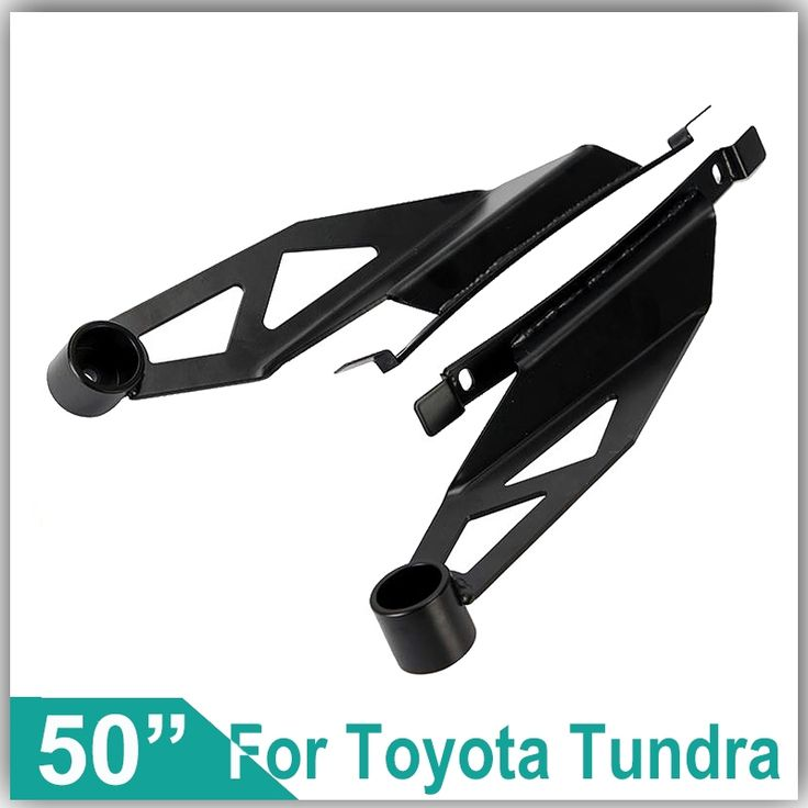"""47.49$  Watch now - http://alitnk.shopchina.info/go.php?t=32661102055 - """"Use for 50"""""""" Curved LED Driving Light Refit Installation Upper Windshield Mounts Brackets For Toyota Tundra 2007~2014 A Pair""""  #buyonlinewebsite"""