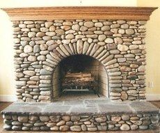 Rock Fireplace best 25+ rock fireplaces ideas on pinterest | stacked rock