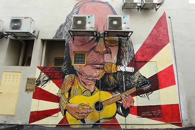 mural painting laman seni 7 shah alam