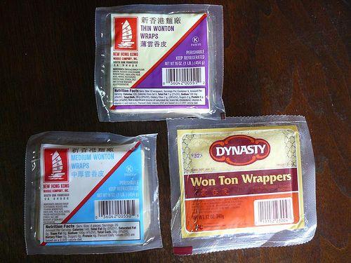 wonton skins buying tips - Andrea Nguyen/Viet World Kitchen