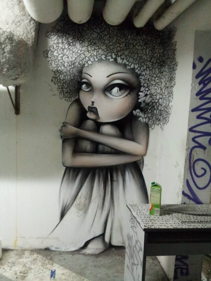 GRAFFITI PRINTS are proud to present Vinie from paris | Urban Art ...