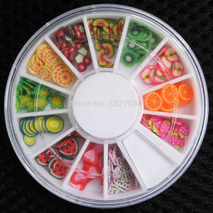 0.54$ (Buy here: http://alipromo.com/redirect/product/olggsvsyvirrjo72hvdqvl2ak2td7iz7/1933987887/en ) 200 pcs 3D Polymer Clay Tiny Fimo Fruit slices Wheel Nail Art DIY Designs Wheel Nail Art Decorations Wholesale artlalic for just 0.54$