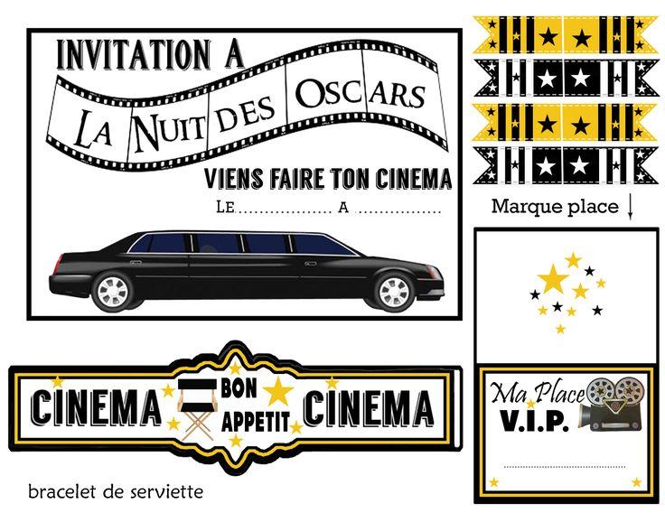 Bekannt Les 25 meilleures idées de la catégorie Deco theme cinema sur  AZ57