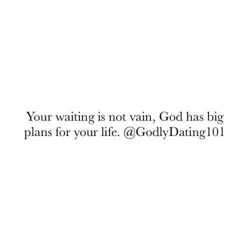 i will wait.