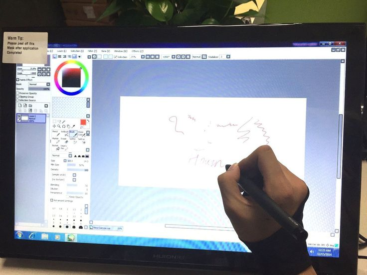Amazon.com: Huion Pen Display for Professionals Graphics Monitor - GT-190S w/ Glove: Computers & Accessories