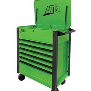 ATD-70400 7 drawer green tool cart for sale $899.95