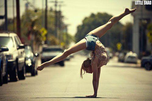 Thème 19 : La gymnastique dans la rue ♥