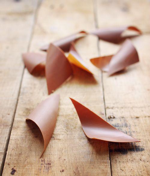 Décorations en chocolat : techniques en images | chefNini