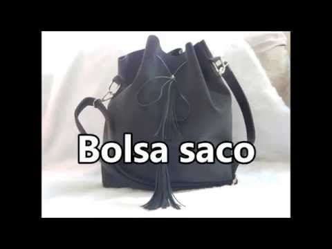 Diy Bolsa saco reaproveitando jeans - YouTube