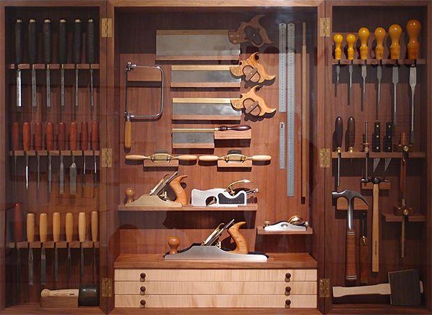 Original Tool Cabinet  FineWoodworking