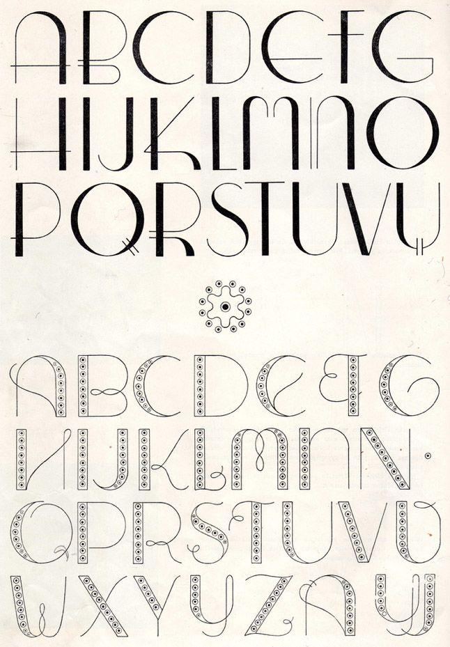 I like the vintage letters and the font type this would be cool as the font for the spreads.
