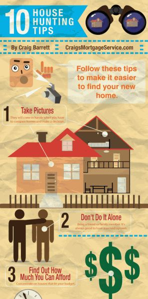 Wonderful 10 Easy House Hunting Tips For Finding Your New Home. Check!  #HomePointFinancial