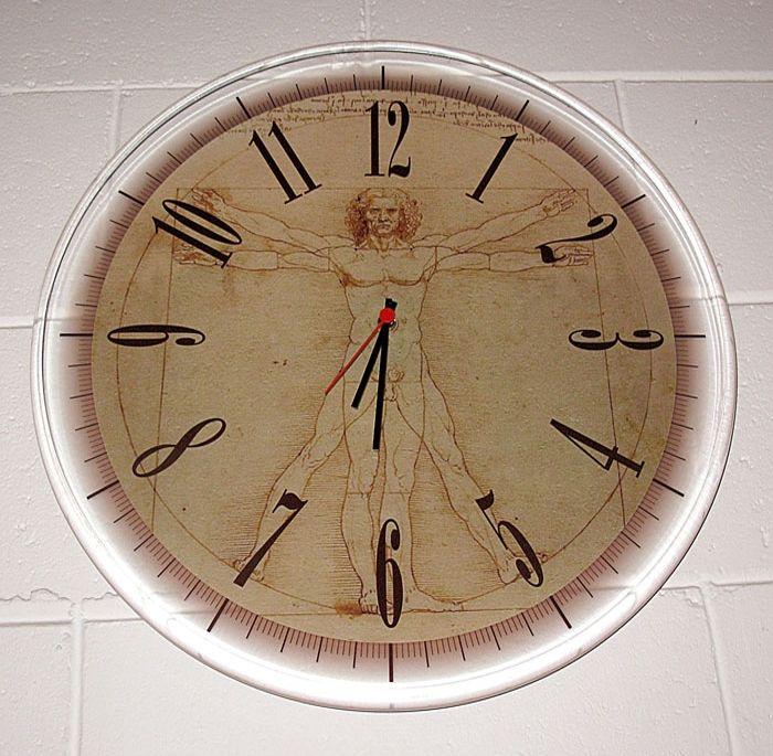 Acrylic wall clock by Elleci Centro Stampa - Digital print on the Canon Océ Arizona flatbed system