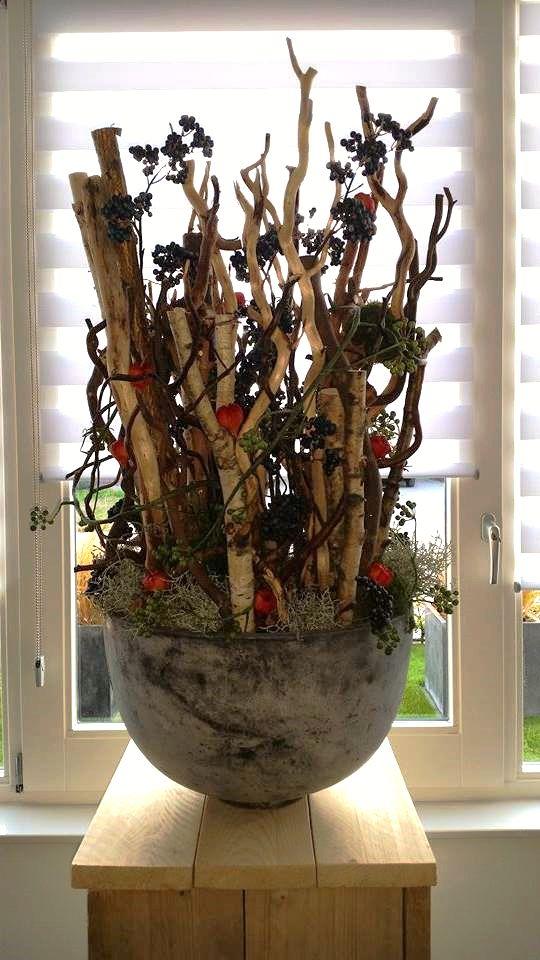 Herfst decoratie met decoratietakken www.decoratietakken.nl