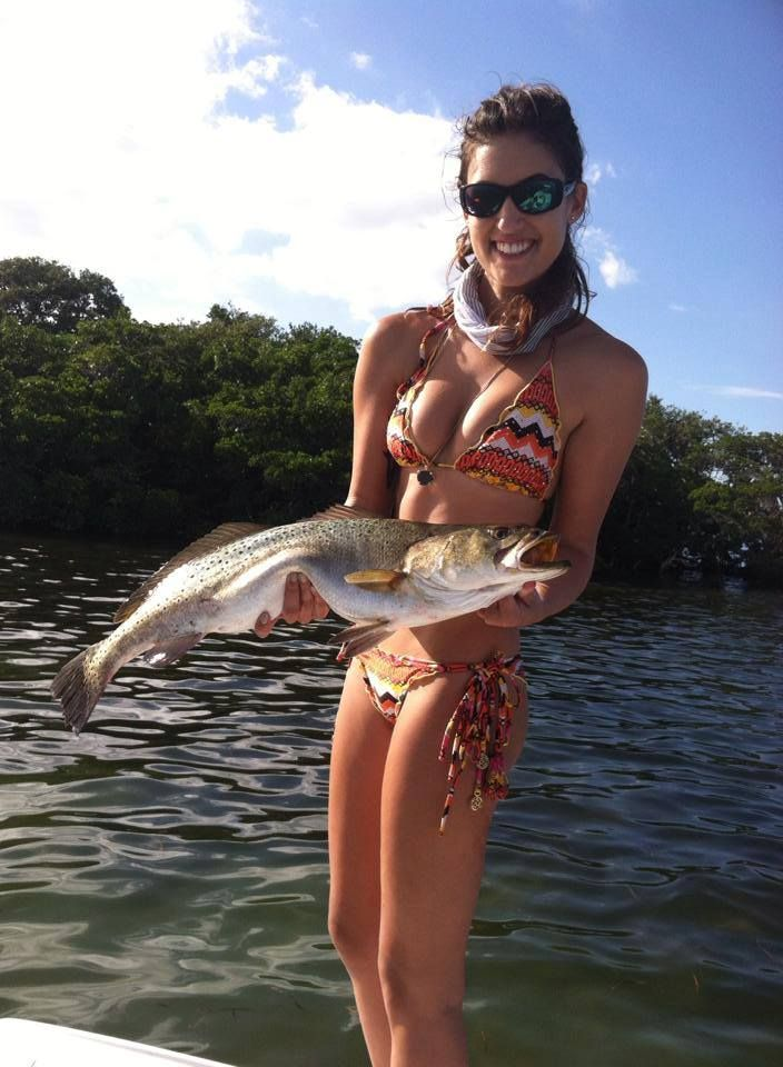 Krista Redfish Tucker With The Catch Of The Day By A -3584