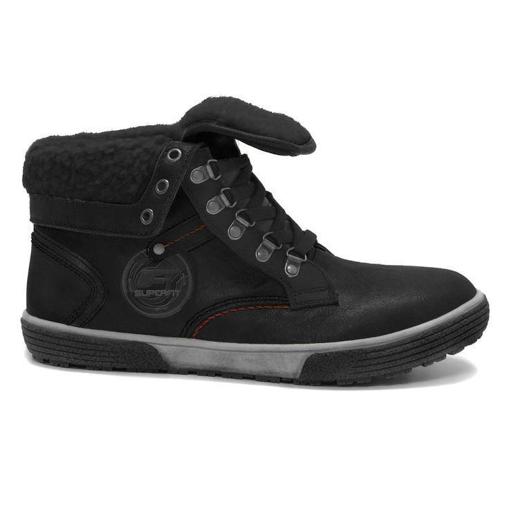 Superfit Ed Men's Waterproof Winter Boots, Size: 10, Black