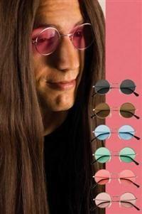 Yuvarlak Hippie Gözlük
