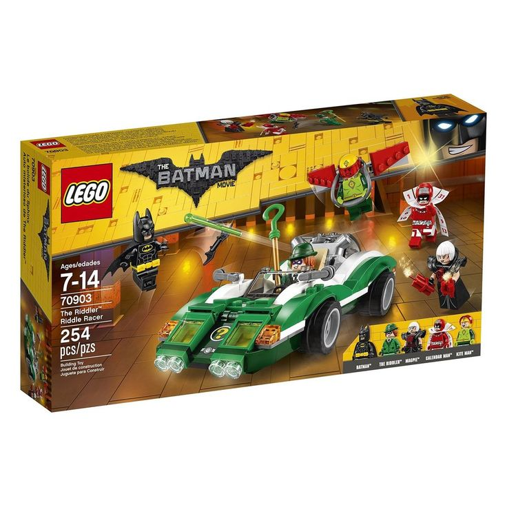 new LEGO Batman Movie The Riddler Riddle Racer 70903 super fast shipping 2 days #LEGO