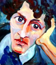 Degenerate Art:  Marc Chagall.  Adolf Hitler loved classical art, yet hated modern abstract art.  In 1937 he had an exhibit called Degenerate Art, which was intended to humiliate modern artists.  All of these works were either destroyed or are still missing today.