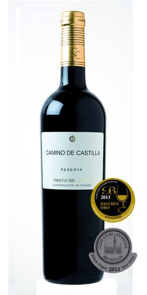 Camino de Castilla Reserva 75 Cl. - A PRIZE WINNING red wine from the RIBERA DE DUERO region of Spain. ONLY €8.49 tax included! www.vinoole.com
