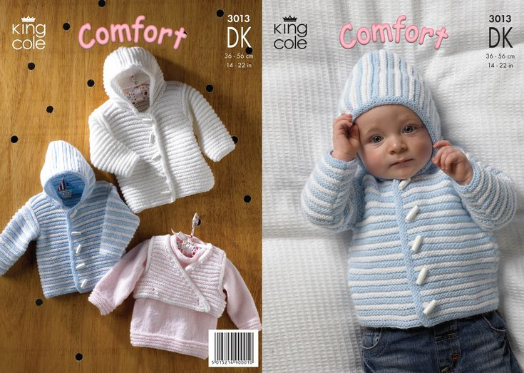 free baby double knitting patterns | Baby knitting ...