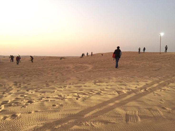 Dubai Revelion.01.01.2015: JEEP SAFARI LA APUS DE SOARE دبي