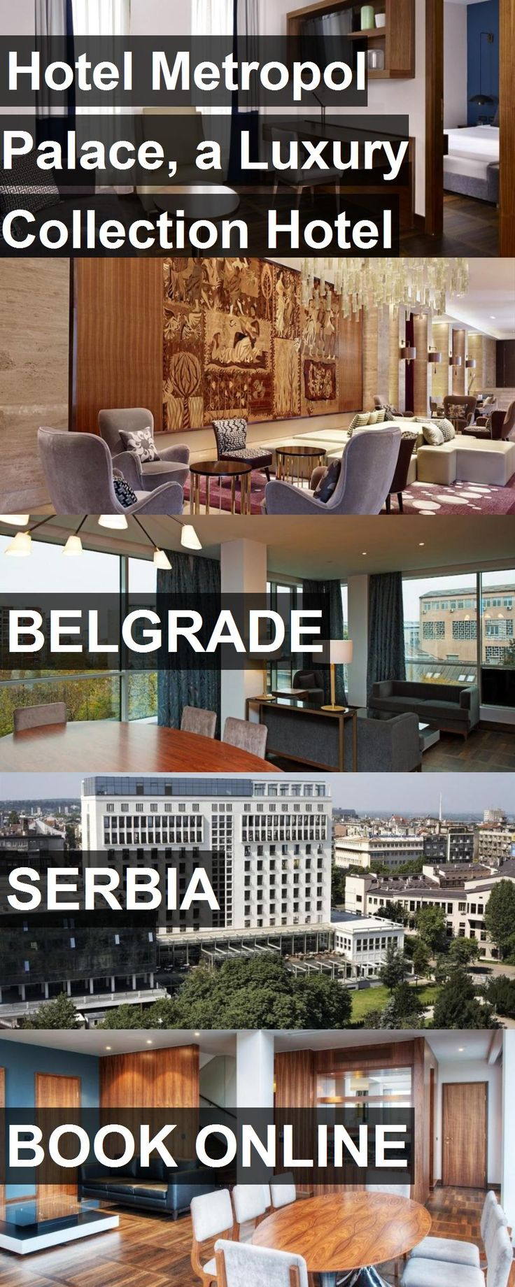 Hotel Hotel Metropol Palace, a Luxury Collection Hotel in Belgrade, Serbia. For more information, photos, reviews and best prices please follow the link. #Serbia #Belgrade #HotelMetropolPalace,aLuxuryCollectionHotel #hotel #travel #vacation