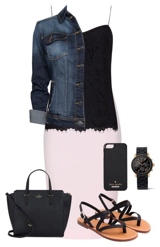 """Untitled #88"" by emileebrooke27 ❤ liked on Polyvore featuring Finders Keepers, Ted Baker, MANGO, Kate Spade and Michael Kors"