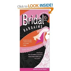 A great wedding planning book with budget in mind.
