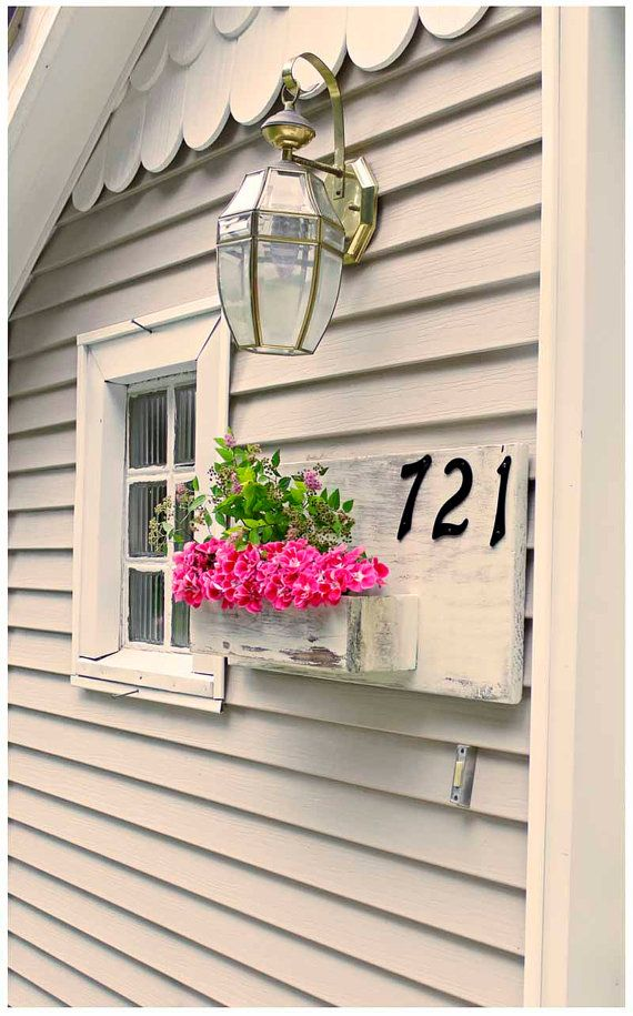 Spring Decor Spring Planter Box Address Planter Address