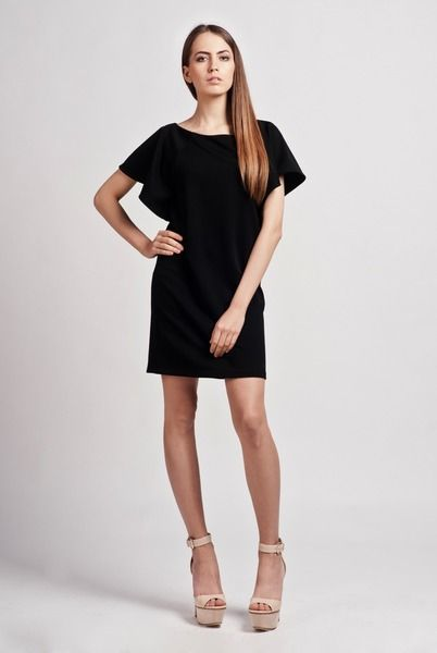 Sukienka, suk104 czarna - Lanti_Official - Sukienki