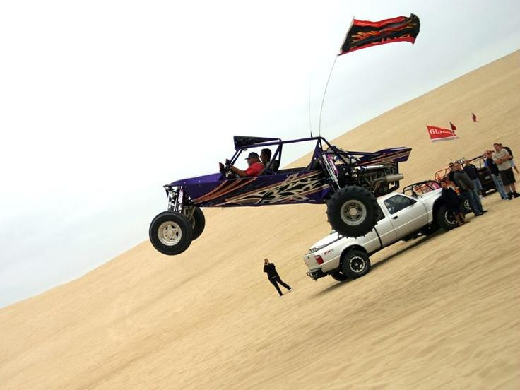 sand rail flyin high