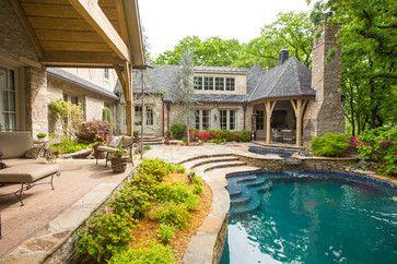 Scott's backyard - traditional - pool - other metro - BlueSpeed AV