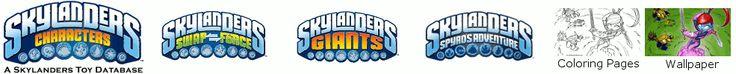 Skylanders: Spyro's Adventure Characters, Figures, Pictures and List