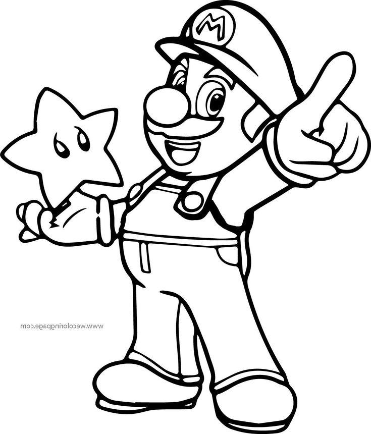 Super Mario Coloring Page Coloriage Mario Coloriage Spiderman Coloriage