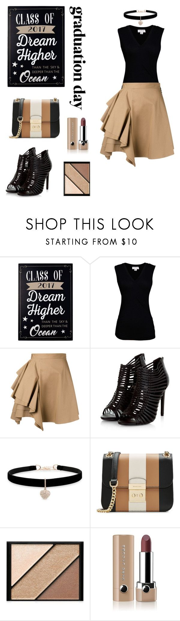 """""""Untitled #63"""" by shelleycox25 ❤ liked on Polyvore featuring New View, Velvet by Graham & Spencer, MSGM, Betsey Johnson, MICHAEL Michael Kors, Elizabeth Arden and Marc Jacobs"""