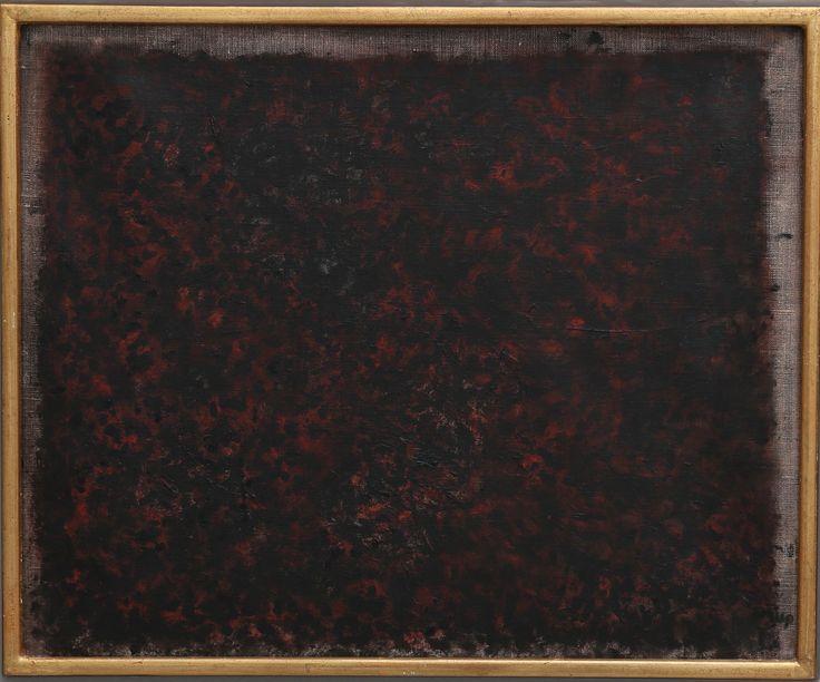 """BENGT ORUP. """"Höstlandskap"""", signerad oljemålning på duk, titel och datering 1969 à tergo, 49x60 cm."""