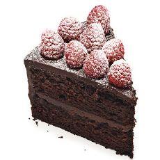 Gâteau Au Chocolat Et Aux Framboises   – Yummy