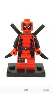 Deadpool DC Marvel Super Hero Minifigures Compatible with Lego Toy DC Universe | eBay