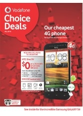 Vodafone NZ Catalogue: Choice Deals May 2013