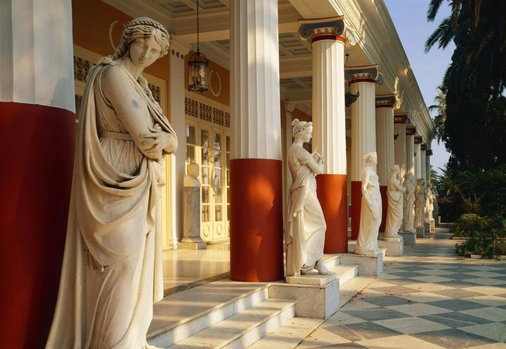Achilleion - Sehenswürdigkeiten - Korfu | inzumi