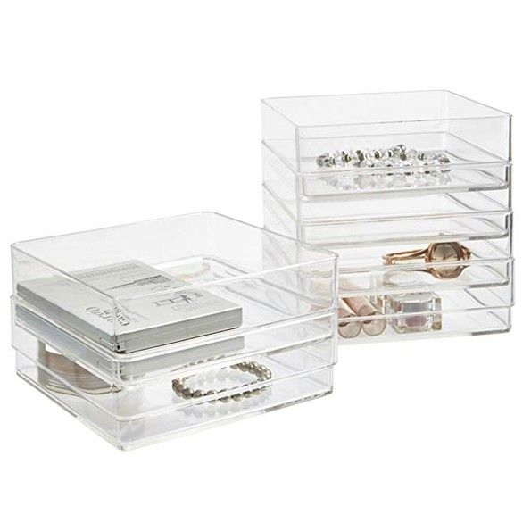 My Favorite Storage Containers Decor Gold Designs In 2020 Plastic Drawer Organizer Plastic Drawers Drawer Organizers