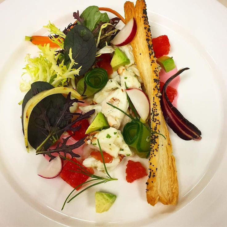 New menu! Crab salad cactus yogurt dressing amapola tuil. #chef #cheflife #instagood #instachef #food #foodporn #instafood #washington #dc #argentina #salad #picoftheday #cheftalk #crab #cook #truecooks