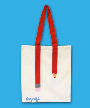 Fancy - Lazy Oaf for TATE Pencil Tote Bag