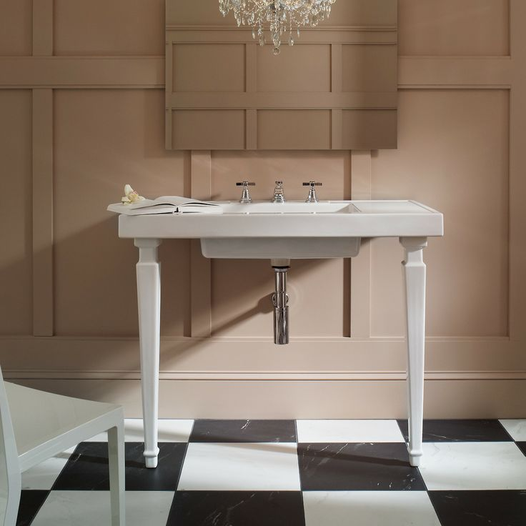Bring Timeless Sophistication To Your Bathroom With The Kathryn Console  Tabletop. Made Of Durable Fireclay