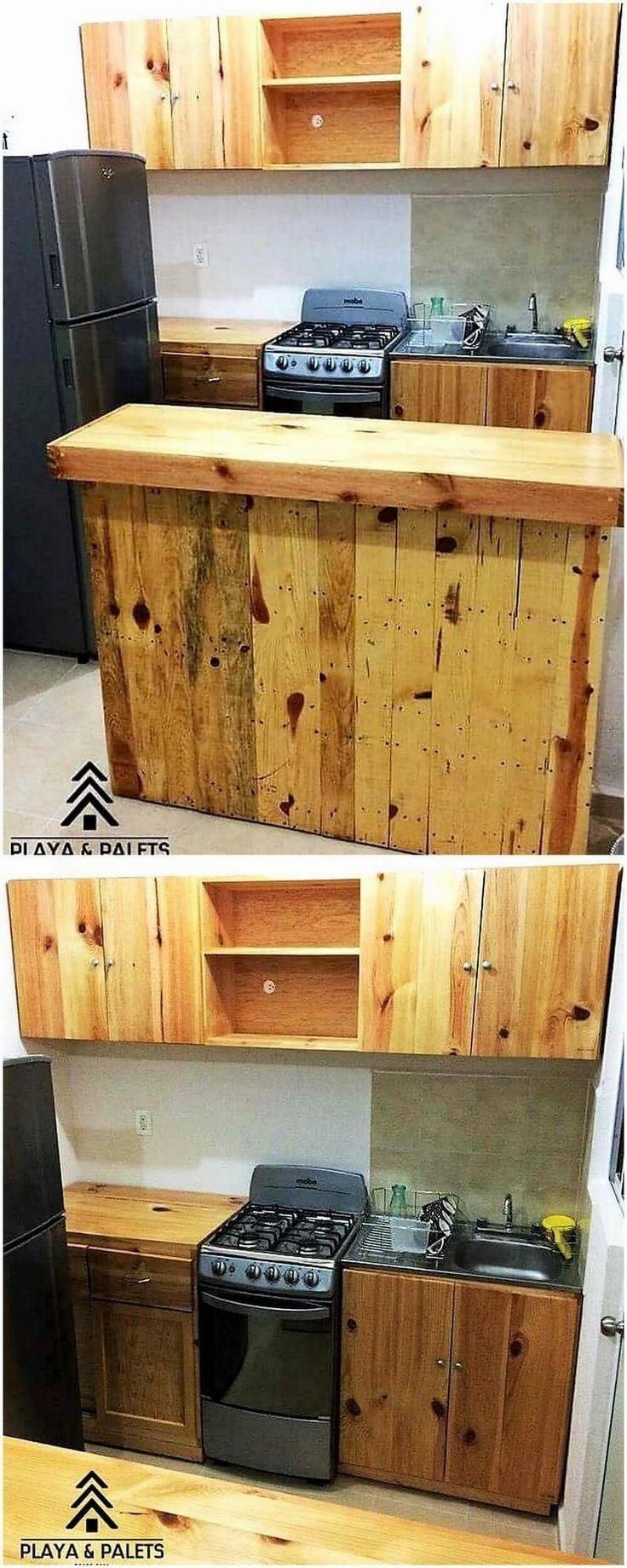 Kitchen Diy Pallet Design Ideas Diy Kitchen Kitchen Design