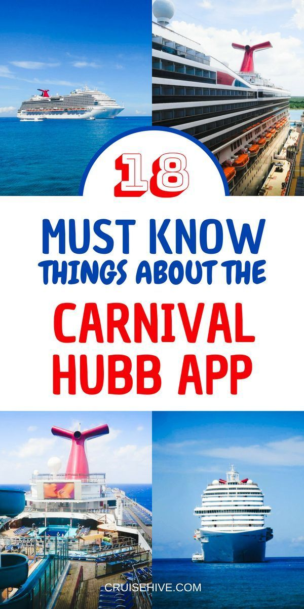 if your going on a cruise vacation with carnival cruise line then
