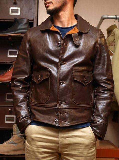 Cuero Pinterest Jackets De Italiana Chaqueta Angv8Zx