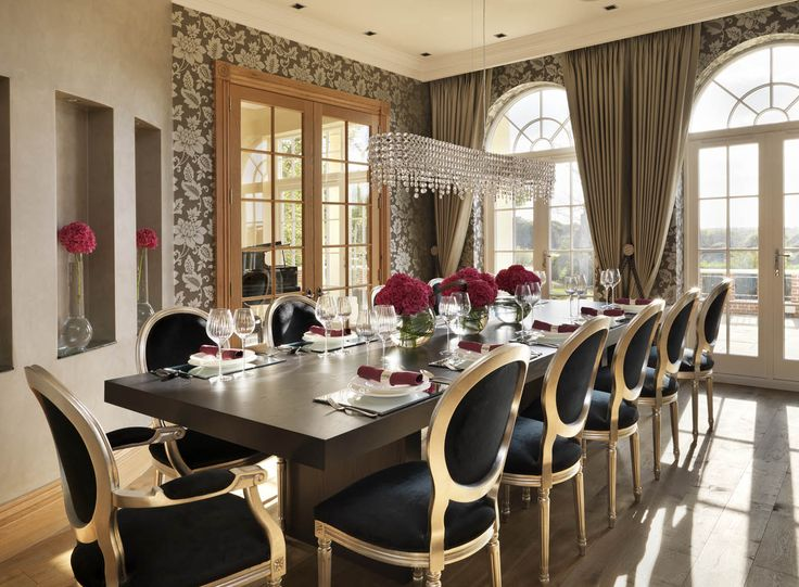 Country House Dining Room Design By Oliver Burns